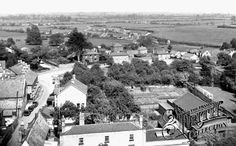 From The Church Tower c1955, Soham
