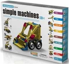 "The toy contains few ""building blocks"" that are used to prepare different mechanical items including parallel scale, lever crane, car with crane, fishing crane, crane bridge, revolving crane, etc."