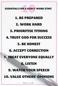 Ever wondered what kind of work ethic we should have as Christians? Proverbs has the answers for us! Check out the 10 essentials they explore to contribute to a Godly work ethic