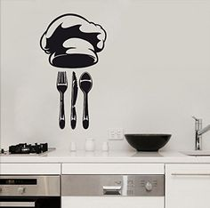 Wall Decal Vinyl Sticker Cook Tableware Teapot Ware Kitchen B476 CreativeWallDecals http://www.amazon.com/dp/B00XL3PYNG/ref=cm_sw_r_pi_dp_UXxzvb1999SEJ