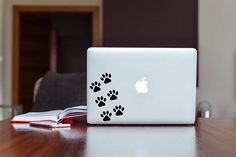 Vinyl Decal PAWS in Pairs Pets Paws Home Decor Pet Animal
