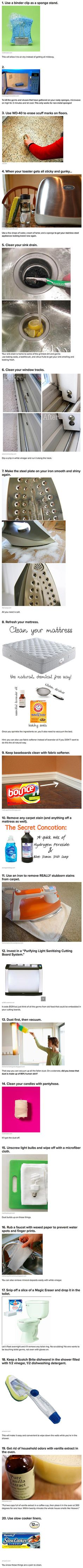 24 Useful Life Hacks Geeks Can Use to Keep Their Home Clean