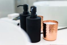 Keep it simple just like Emma & Courtney onTV3s @theblocknzl with this timeless Maro  soap dispenser ($19.95) in a classic black matte finish. Practical and stylish the dispenser  can bring together different elements of your bathroom or kitchen with its minimalist look and  design making it the perfect fit for both polished pared-back spaces and busy hard-to-  organise bathrooms. #freedomnz #theblocknz2016 #theblocknz #freedomfurniture
