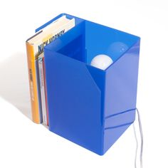 #Blue #Lampada Booklight #design #designtrasparente #light #lamps #madeinitaly #bookshelf #bookcase #lampada #libreria #plexiglass #plexiglas