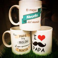 Tazas para el papa y el abuelo!