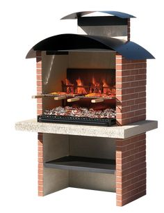 Images 1 brick built bbq using fresh field lane brick with corbelled detail for chimney seating area old home place built in barbecue on back porch with chimney Brick Built Bbq, Brick Bbq, Fire Pit Grill, Bbq Grill, Barbeque Design, Bbq Chimney, Outdoor Garden Sheds, Stone Bbq, Outdoor Fireplace Designs