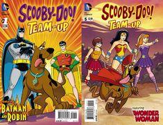 Scooby-Doo Team-Up Comic Books