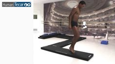 Human Tecar Synergy Mat: the new solution for the prioprioception techniques and recovery of the balance. Treadmill, Gym Equipment, Pictures, Running Belt, Treadmills, Trail Running