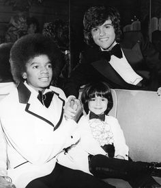 Michael Jackson and Donny Osmond