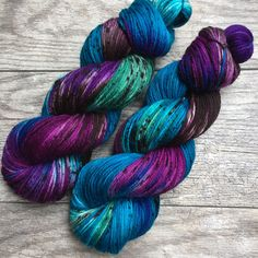 Midnight in the Garden - Hand Dyed Variegated and Speckled Sock or Fingering Weight Yarn, Superwash Merino Nylon, Choose Your Own Base by WIPyarns on Etsy https://www.etsy.com/listing/495162072/midnight-in-the-garden-hand-dyed