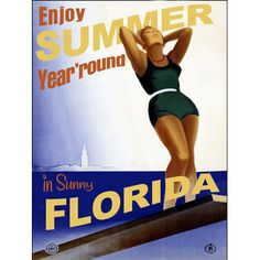 Personalized Sunny Florida Wood Sign