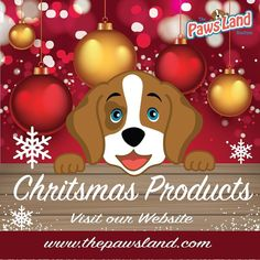 Awesome #chritsmas products visit our Online #boutique www.thepawsland.com #dogs