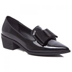 Sweet Patent Leather and Bowknot Design Pumps For Women #CLICK! #clothing, #shoes, #jewelry, #women, #men, #hats, #watches