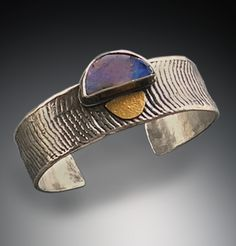 Boulder opal cuff - Patricia McCleery