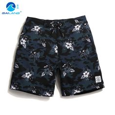 Mens summer board shorts swimming trunks beach surf bermudas swim liner Elastic quick dry polyester swimsuits plavk sweat jogger #Affiliate