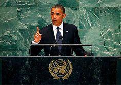 """O discurso do Presidente dos EUA na Assembleia Geral foi um apelo moral ao mundo. Pelo meio, acusou a Rússia de ter alterado """"a ordem do mundo pós-guerra fria""""."""
