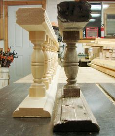 We can duplicate your spandrel and most railings from your original.