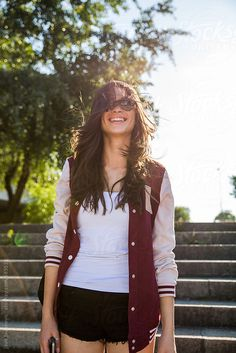 Smile + sunshine.