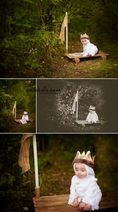 Wild Things | Nikkala Anne Photography  family brothers sibling boy photo session photography inspiration idea woods sail boat raft where the wild things are costume