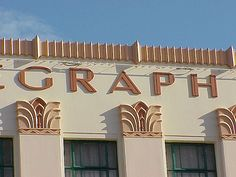 Detail, Daily Telegraph Building, Napier by dct66, via Flickr