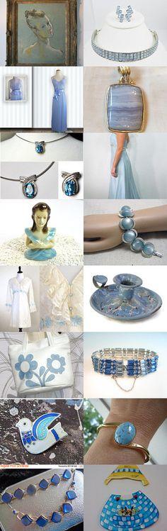 ☀ Beautiful Blue Shadows ☀ by Dorota and Monika on Etsy--Pinned with TreasuryPin.com