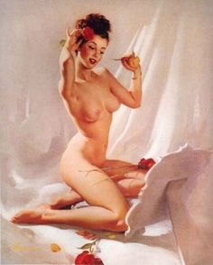 Classic pin up girls nude seems