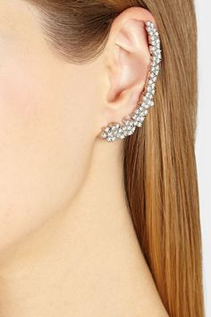 Ana Khouri | Mirian 18-karat white gold diamond ear cuff