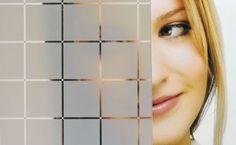 Adesivo Jateado - Quadriculados m2 - (100x100 cm)