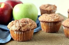 This recipe for easy apple cinnamon muffins is delicious- a great breakfast or brunch treat.