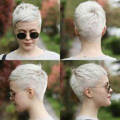 Kurz Haarschnitte nehmen oft wenig Zeit zu Styling aber passt an alle Haartypen. Alle Blicke hier sibd fabelhaft mit kurzes Haar, weil Sie viele Komplimente erhalten und am wichtigsten, Ihre Gesicht Formen und Eigenschaften werden besser definiert.  Gerades Blonde Pixie Haar Wenn Sie dünnes Haar haben, können Sie einige Schichten hinzufügen für ein voluminösen …