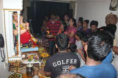 Ganpati Aarti @ Sunil Agarwal's House