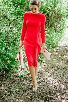 Look invitada boda: todo al rojo low cost Invitadas, Sin categoría - Confesiones de una Boda