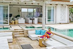 Koh Samui Holiday Villa #kohsamui #samui #thailand #asianluxuryvillas _____________________ Villa Mia is a great place for a family vacation located right on the beach with its own playground and lots of space