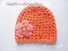 CUTE hat pattern!
