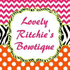 Facebook: www.facebook.com/LovelyRitchiesBowtique Facebook Group: www.facebook.com/groups/lrbowtiqueshopping/ ETSY: www.etsy.com/shop/LRSBowtique