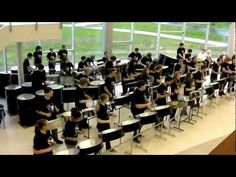 "Can't have a without a steel drum band. This clip is ""The Lion Sleeps Tonight"" by Dover Steel Drum Band. Sound Of Music, Kinds Of Music, Good Music, The Lion Sleeps Tonight, Cool Music Videos, Drum Band, Drum Music, Drum Major, Drumline"