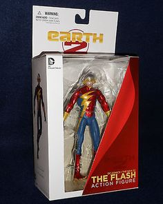 DC Direct The New 52 Earth 2 THE FLASH Action Figure Collectibles Comics - http://hobbies-toys.goshoppins.com/action-figures/dc-direct-the-new-52-earth-2-the-flash-action-figure-collectibles-comics/