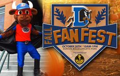 Play catch & take batting practice on the field at this Saturday's FREE Fall Fan Fest at the DBAP!