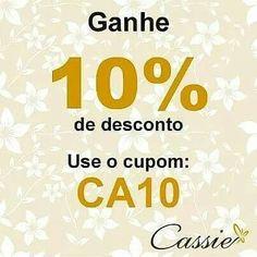 ✨ Bom dia!!!  Que essa sexta-feira seja de alegrias!!!  ✨ E que tal começar esse dia com desconto!!!    Semijoias folheadas com garantia em até 6x sem juros e frete grátis para compras acima de R$ 150,00.  ❤⚪⚪⚪⚪⚪⚪⚪⚪⚪⚪⚪❤  Use o Cupom de desconto CA10 e ganhe 10% de desconto.  ❤⚪⚪⚪⚪⚪⚪⚪⚪⚪⚪⚪❤ #Cassie #semijoias #acessórios #moda #fashion #instajoias #tendências #prata #charms #cupomdedesconto #instasemijoias #pulseirismo #zirconias #folheado #dourado #berloques