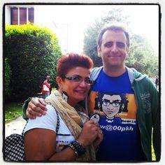 Finalmente un volto!! Signori e signore Michy Machine :-) @Michele Morales Mannucci #TA12