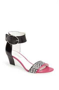 Ankle strap sandals - big trend for Spring 14 Nine West 'Venchie' Sandal available at #Nordstrom