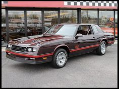 1987 Chevrolet Monte Carlo SS Aerocoupe.  Now this is a classic.