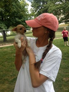 Candid pictures with puppies. TSM.