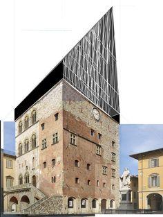 Beniamino Servino. Cathédrale Mansart. 21st Century, Geometry, Louvre, Building, Travel, Design, Viajes, Buildings