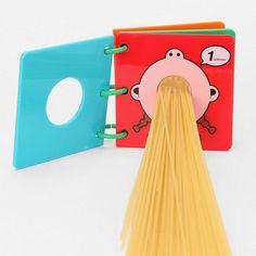 Spaghetti Measuring Book