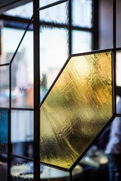 Leave it to Commune Design, the team behind the new Ace Hotel in Los Angeles, to make stained glass look cool. It's just one of the many details at the hot