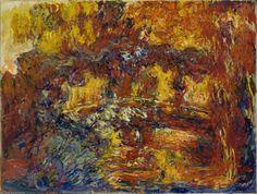 La passerelle japonais de Claude Monet (1840-1926, France)