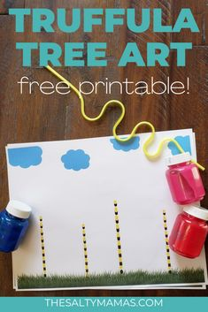 If you've got some Lorax loving littles, they're going to LOVE this Truffula Tree Art project. Whether you're using the Lorax for earth day activities or for Dr. Seuss' Birthday, this is an easy and fun Dr. Seuss art project for preschoolers and up. He's got mixed reviews from teachers, but there is just something ... Read More about Truffula Tree Art Project for Preschoolers Toddler Art Projects, Cool Art Projects, Toddler Crafts, Preschool Crafts, Earth Day Activities, Preschool Activities, Easy Crafts For Kids, Art For Kids, Truffula Trees