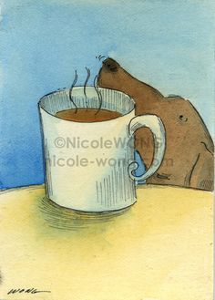 Coffee smells good | Nicole Wong