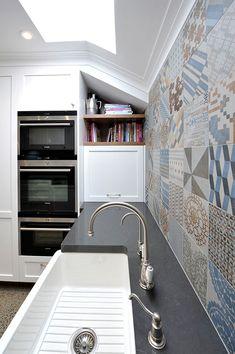 eat.bathe.live :: middle park kitchen designed by eat.bathe.live with azulej feature tiles